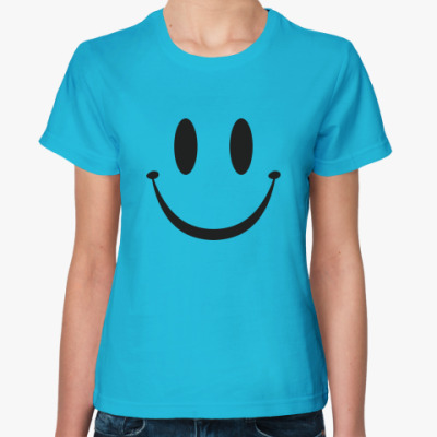 Женская футболка Smile