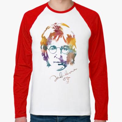 Футболка реглан с длинным рукавом The Beatles - John Lennon