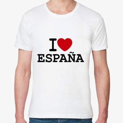 Футболка из органик-хлопка I Love España