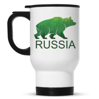 Кружка-термос Россия, Russia