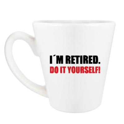 Чашка Латте 'Do it yourself!'
