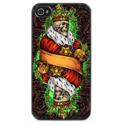 Чехол для iPhone Skeleton King