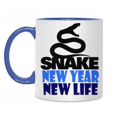 Кружка Snake -New Year New Life