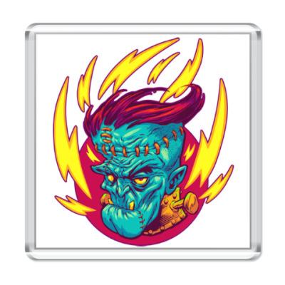Магнит Франкенштейн в огне