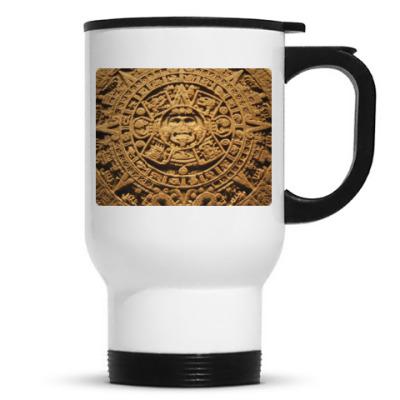 Кружка-термос ``Солнце ацтеков``