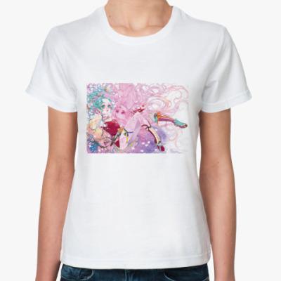 Классическая футболка Tina( Final Fantasy IV)