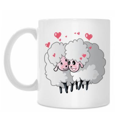 Кружка Две овечки