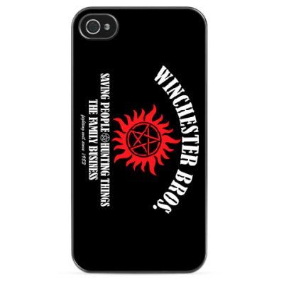 Чехол для iPhone Winchester Bros.