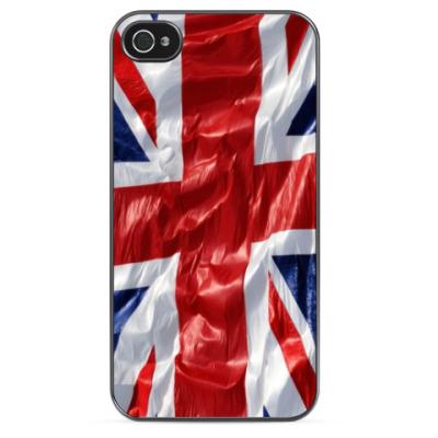 Чехол для iPhone Флаг Великобритании