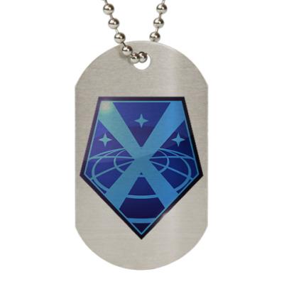 Жетон dog-tag X-COM: Enemy Unknown