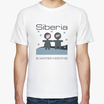 Футболка Siberia Long-Winter t-Shirt