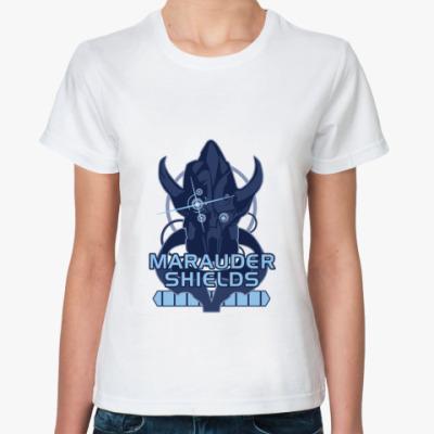 Классическая футболка Mass Effect: Мародер Шилдс