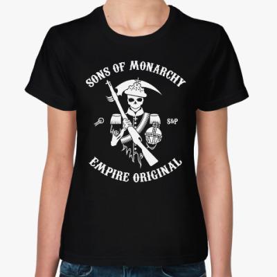 Женская футболка Женская футболка Sol's Sons of Monarchy