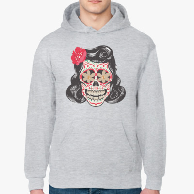 Толстовка худи Skull Girl