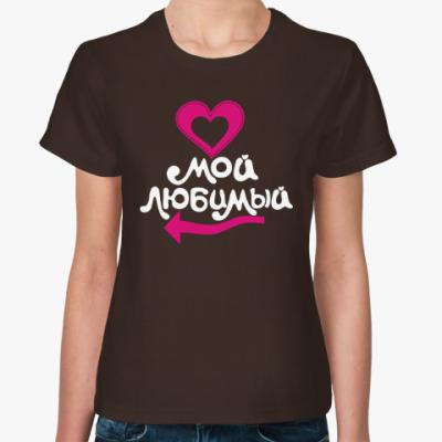 Женская футболка Семья.Family.Папа.Мама.Дети.