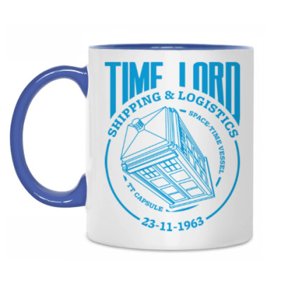 Кружка Time Lord
