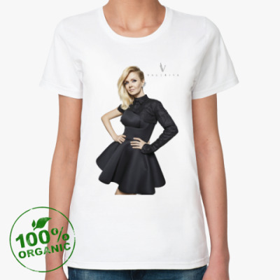 Женская футболка из органик-хлопка Валерия