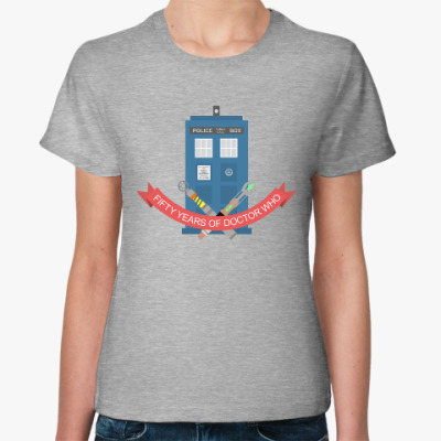 Женская футболка TARDIS - Doctor Who