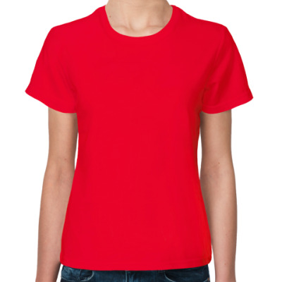 Женская футболка Grammar nazi