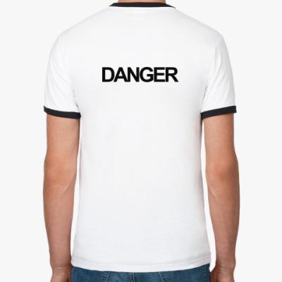 футболка Danger! (муж)