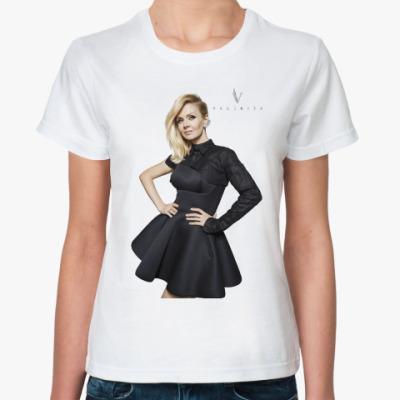 Классическая футболка Валерия