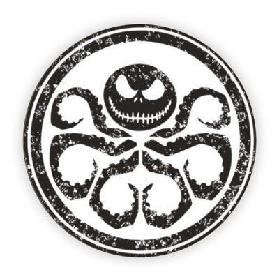 Костер (подставка под кружку) Осьминог Скеллингтон