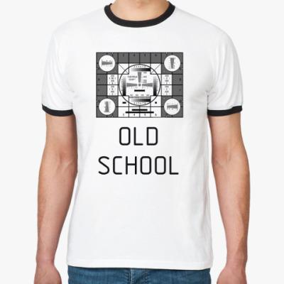 Футболка Ringer-T OLD SCHOOL