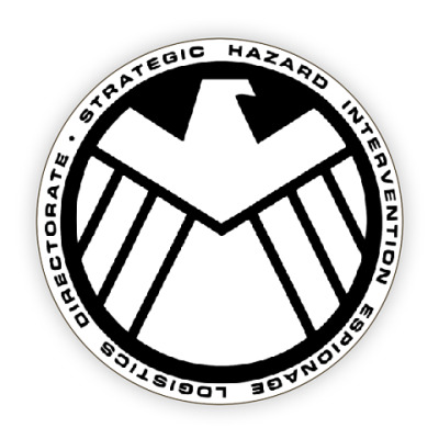 Avengers shield logo vector