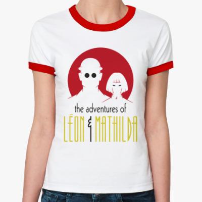 Женская футболка Ringer-T Леон и Матильда