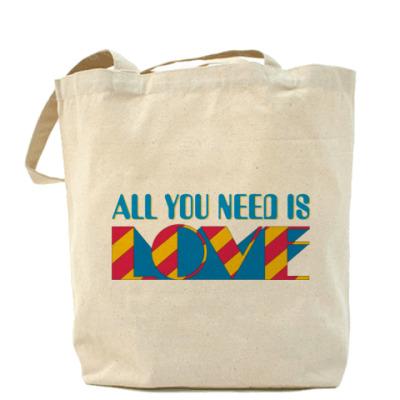 Сумка All You Need Is Love (сумка)