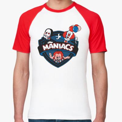 Футболка реглан Maniacs