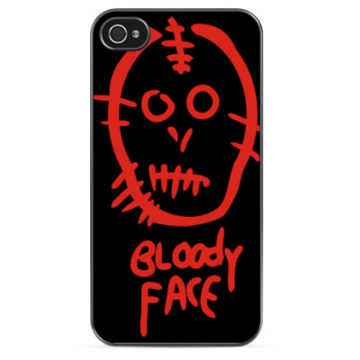 Чехол для iPhone Bloody face