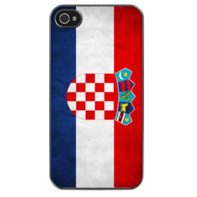 Чехол для iPhone Флаг Хорватии