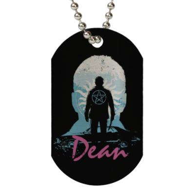 Жетон dog-tag Dean - Supernatural