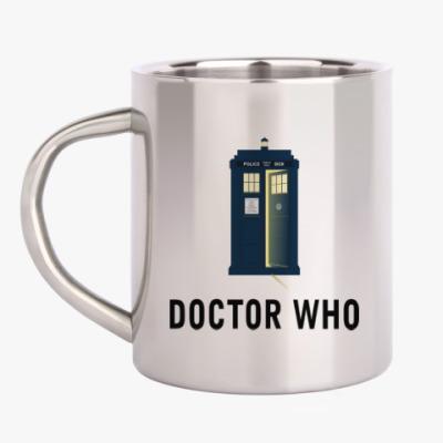 Кружка металлическая Doctor Who