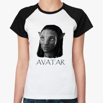 Женская футболка реглан  Neytiri