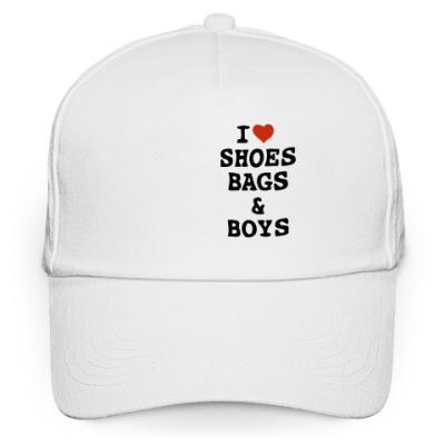 Кепка бейсболка Love Shoes, Bags & Boys