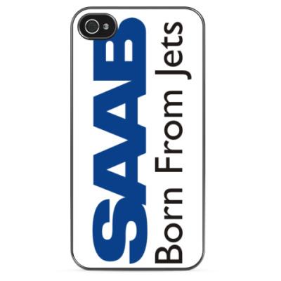 Чехол для iPhone SAAB born from jets