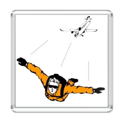 Магнит Skydiver