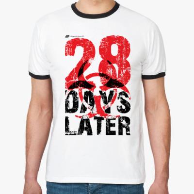 Футболка Ringer-T «28 Days Later»