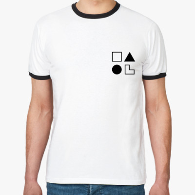 Футболка Ringer-T  ЛИИ (Робеспьер)
