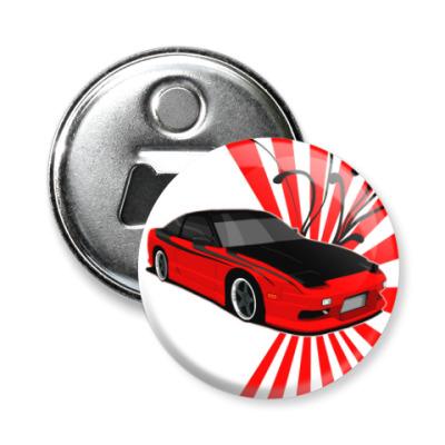 Магнит-открывашка Nissan 240sx