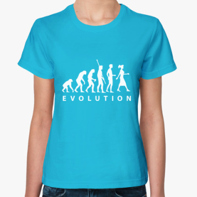 Женская футболка EVOLUTION