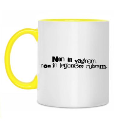 Кружка Non in vaginam,..