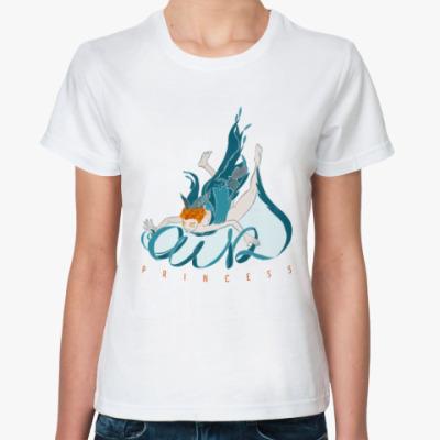 Классическая футболка Ведьма воздуха