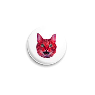 Значок 25мм  «Red cat» (25 мм)