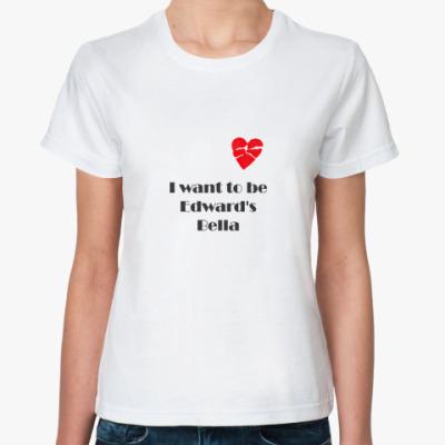 Классическая футболка Edwards Bella