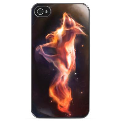 Чехол для iPhone Fire Fox
