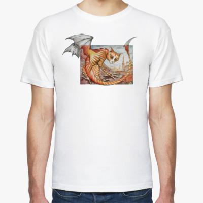 Футболка Кошачий дракон