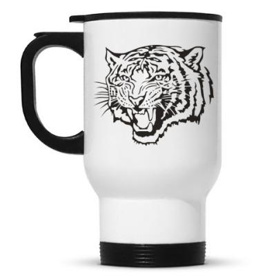 Кружка-термос Тигр